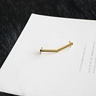 billige Dekorative Detaljer-Plast & Metal Dekorative detaljer Dame Alle årstider Afslappet Guld Bronze Klar