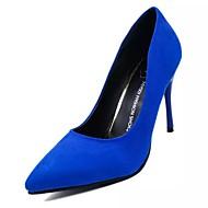 Γυναικεία Παπούτσια Σουέτ Φθινόπωρο Ανατομικό Τακούνια Περπάτημα Τακούνι Στιλέτο / Διάφανο Τακούνι Μυτερή Μύτη Ροδοκόκκινο / Κόκκινο /