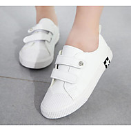 baratos Sapatos de Menino-Para Meninos / Para Meninas Sapatos Lona Primavera / Outono Conforto Tênis para Branco / Preto / Khaki