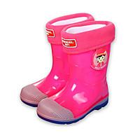 baratos Sapatos de Menino-Para Meninos / Para Meninas Sapatos Pele PVC Inverno Botas de Chuva Botas para Fúcsia / Azul