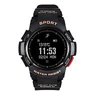 tanie Inteligentne zegarki-Inteligentny zegarek Wielofunkcyjny Budziki Spalone kalorie Krokomierze Kontrola APP Czujnik pracy serca Pulse Tracker Krokomierz
