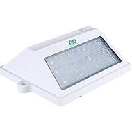billiga Belysning-YWXLIGHT® 1st 3W Vägglampa Sol Vattentät Ljusstyrning Dekorativ Utomhusbelysning Kallvit DC3.7V