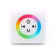 billige belysning Tilbehør-1pc 12-24 V Smart / Wifi / Fjernstyrt Glass / Plast RGB-kontroller for RGB LED Strip Light