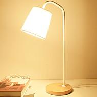 billige Lamper-Moderne Justerbar Skrivebordslampe Til Tre / Bambus Hvit Svart