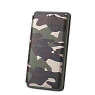 billiga Mobil cases & Skärmskydd-fodral Till Huawei P10 P10 Lite Korthållare med stativ Lucka Fodral Enfärgad Hårt PU läder för P10 Lite P10 Huawei P9 Lite Huawei P9 P8