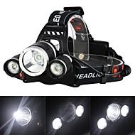 ieftine -Frontale / Becul farurilor LED 3000 lm 4.0 Mod Zbor cu Încărcător Reîncărcabil / Mască exterioară lanternă Camping / Cățărare / Speologie / Voiaj