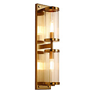 baratos Arandelas de Parede-QIHengZhaoMing Cristal / Proteção para os Olhos Moderno / Contemporâneo Luminárias de parede Sala de Estar / Quarto de Estudo / Escritório