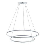 tanie -Ecolight™ 2-światło Okrągły Lampy widzące Światło rozproszone - Przysłonięcia, LED, 110-120V / 220-240V, Warm White / White, Źródło