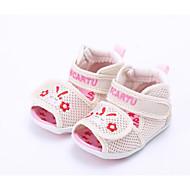 baratos Sapatos de Menino-Para Meninos / Para Meninas Sapatos Tule Verão Conforto / Primeiros Passos Sandálias para Azul / Rosa claro / Khaki