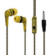 reflektirajuća platna linija slušalica slušalica ispucati slušalice s mikrofonom stereo slušalice za mobilni telefon iphone s mikrofonom