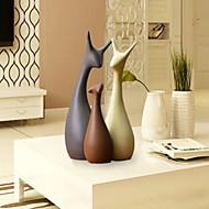 billiga Dekorativa föremål-3pcs Keramisk Europeisk Stil för Hem-dekoration, Heminredning Gåvor