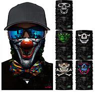 tanie Kominiarki i maski-Maska Na każdy sezon Szybkie wysychanie / Odporność na promieniowanie UV / Ochrona przed bakteriami Kolarstwie szosowym / Piesze wycieczki / Kolarstwo / Rower Unisex Poliester Czaszki