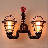 billige Vegglamper-Original Vegglamper Utendørs / butikker / cafeer Metall Vegglampe IP44 220-240V 40W