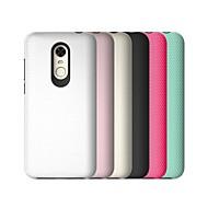 billiga Mobil cases & Skärmskydd-fodral Till Xiaomi Redmi 5 Plus Stötsäker Skal Enfärgad Rustning Hårt PC för Xiaomi Redmi 5 Plus
