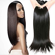 4 svazky Peruánské vlasy Volný 8A Přírodní vlasy Nezpracované lidské vlasy Lidské vlasy Vazby Bundle Hair Příčesky z pravých vlasů 8-28 inch Přírodní Přírodní barva Lidské vlasy Vazby Hedvábný povrch