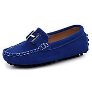 baratos Sapatos de Menino-Para Meninos Sapatos Pele Primavera & Outono Conforto Mocassins e Slip-Ons para Preto / Marron / Azul Real
