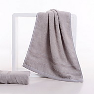 baratos Toalha de Mão-Qualidade superior Toalha de Lavar, Sólido Poliéster / Algodão 1 pcs