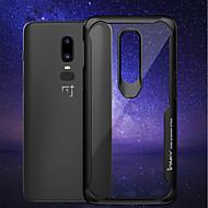 Etui Til OnePlus OnePlus 6 Stødsikker / Transparent Bagcover Ensfarvet Blødt Silikone for OnePlus 6 / One Plus 5 / OnePlus 5T
