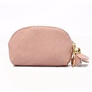 baratos Clutches & Bolsas de Noite-Mulheres Bolsas PU Bolsa de Mão Ziper Rosa / Verde Escuro / Marron