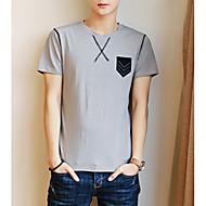 Majica s rukavima Muškarci - Ulični šik Dnevno Color block
