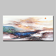 cheap Top Sellings-Oil Painting Hand Painted - Abstract Landscape Classic Modern Canvas
