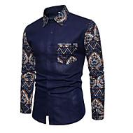 Majica Muškarci - Aktivan Osnovni Dnevno Praznik Geometrijski oblici