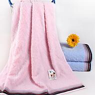 baratos Toalha de Banho-Qualidade superior Toalha de Banho, Sólido Poliéster / Algodão 1 pcs