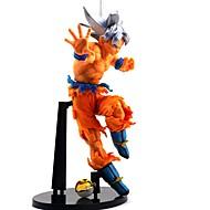 Anime Aksiyon figürleri Esinlenen Dragon Ball Son Goku PVC 21 cm CM Model Oyuncaklar Oyuncak bebek