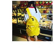 billige Skoletasker-Dame Tasker polyester rygsæk Lynlås for udendørs Blå / Rød / Gul