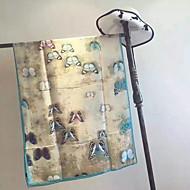 billiga Handdukar och badrockar-Överlägsen kvalitet Strand handduk, Blommig / Geometrisk Rayon / Polyester 1 pcs
