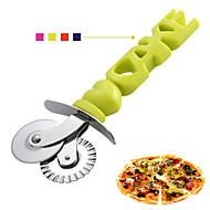 billige Bakeredskap-Bakeware verktøy Rustfritt stål Kreativ Pizza Pastry Cutters 1pc