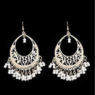 Dames Druppel oorbellen Ring oorbellen - Tupsu Oversized Sieraden Zwart / Rood / Blauw Voor Feest Dagelijks