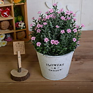 cheap -Artificial Flowers 1 Branch Retro Baby Breath Tabletop Flower