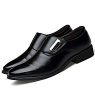 Men's Formal Shoes Oxford / PU(Polyurethane) Spring &  Fall Comfort Oxfords Black / Brown / Party & Evening