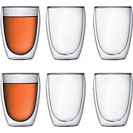 ieftine Pahare-Drinkware Sticlă de bor înalt Căni -Izolate termic 6 pcs