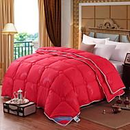 billiga Täcken och överkast-Bekväm - 1 st. Sängöverkast / 1 st. Täcke Vinter Polypropen Enfärgad / Geometrisk