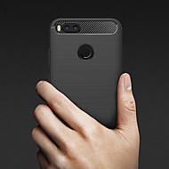 billiga Mobil cases & Skärmskydd-fodral Till Xiaomi Mi 5X / Mi 4s Läderplastik Skal Enfärgad Mjukt TPU för Xiaomi Mi 6X(Mi A2) / Xiaomi Mi 6 / Xiaomi Mi 5X / Xiaomi Mi 5s / Xiaomi Mi 4s