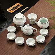 billige Kaffe og te-10pcs Porselen Tekannesett Varmebestandig ,  12.5*8.5;11*6.5;8*7.5;11*9.5;6.5*3.5cm
