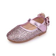 baratos Sapatos de Menino-Para Meninos Sapatos Couro Ecológico Primavera Conforto Rasos para Dourado / Prata / Rosa claro