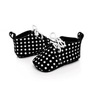 baratos Sapatos de Menino-Para Meninos Sapatos Pele Nobuck Primavera Primeiros Passos para Preto / Khaki