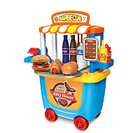 cheap Dress Up & Pretend Play-Toy Kitchen Set BBQ House Parent-Child Interaction ABS+PC Kid's Gift 33 pcs