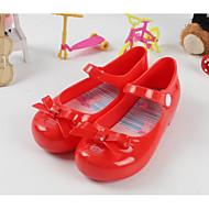 baratos Sapatos de Menina-Para Meninas Sapatos PVC Verão Conforto Sandálias para Preto / Vermelho / Amêndoa
