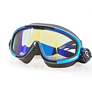 billiga Swim Goggles-Simglasögon Anti-Dimma / Bärbar / Professionell Polykarbonat Polykarbonat Svart Annat