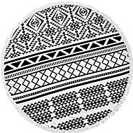 billiga Handdukar och badrockar-Överlägsen kvalitet Strand handduk, Geometrisk 100% Polyester 1 pcs
