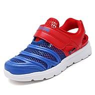 baratos Sapatos de Menino-Para Meninos Sapatos Borracha Primavera Conforto Tênis para Branco / Azul Escuro / Azul Claro