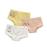 billige Undertøj og sokker til babyer-3stk Baby Pige Prikker Trykt mønster Undertøj og strømper