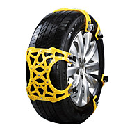cheap Car Wheel Decoration-12pcs Car Snow Chains Common Buckle Type For Car Wheel For universal All Models All years