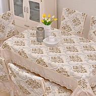 billige Duker-Klassisk Bomull Kvadrat Duge Mønstret Borddekorasjoner 1 pcs
