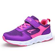 baratos Sapatos de Menino-Para Meninos Sapatos Tule Primavera Verão Conforto Tênis Velcro para Preto / Roxo / Rosa claro
