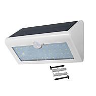 billiga Belysning-1st 2 W LED-strålkastare Sol Vit 5.5 V Utomhusbelysning 38 LED-pärlor